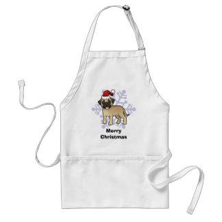Christmas Mastiff / Bullmastiff Standard Apron