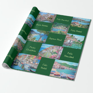 """Christmas - Matte Wrapping Paper, 30"""" x 6' Wrapping Paper"""
