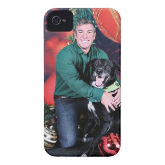 Christmas - Maverick - Border Collie X Case-Mate iPhone 4 Case