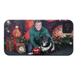 Christmas - Maverick - Border Collie X iPhone 4 Case-Mate Cases