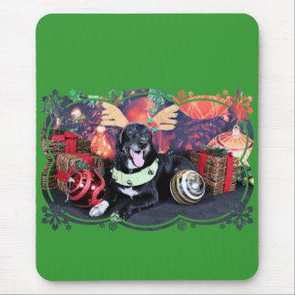 Christmas - Maverick - Border Collie X Mouse Pad