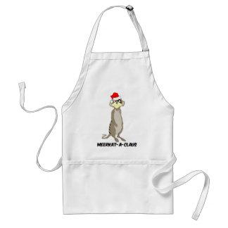 Christmas meerkat standard apron