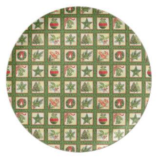 Christmas Memories Plate