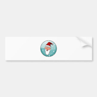 Christmas Merry Holiday Tree Ornaments celebration Bumper Sticker