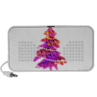 Christmas Merry Holiday Tree Ornaments celebration Mp3 Speakers