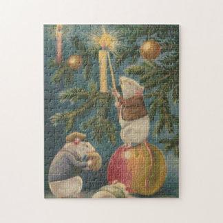 Christmas Mice Cross Stitch Jigsaw Puzzle