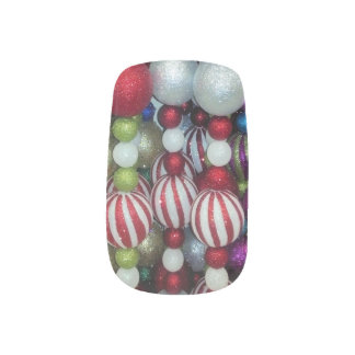 Christmas Mink Nails Nail Stickers