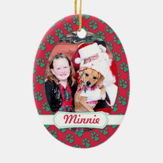 Christmas - Minnie - Boxer X Ornament