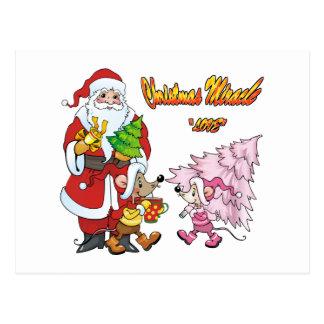 Christmas Miracle Love Postcard