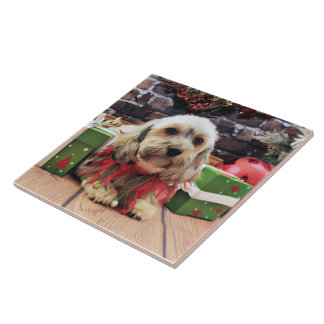 Christmas - Mixed Breed - Ginger Tile