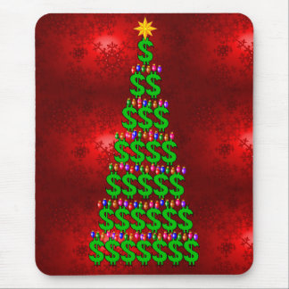 Christmas Money Tree Mouse Pad
