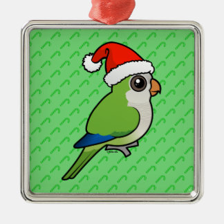 Christmas Monk Parakeet Christmas Ornament