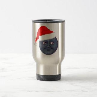 Christmas Moon Emoji Mugs