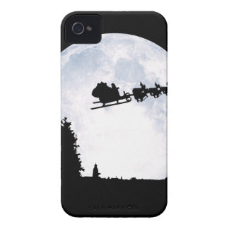 Christmas Moon iPhone 4 Cover