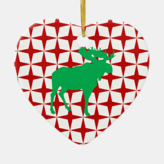 Christmas Moose Christmas Ornament