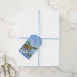 Christmas Moose Gift Tags