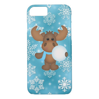 Christmas Moose iPhone 7 barely there case