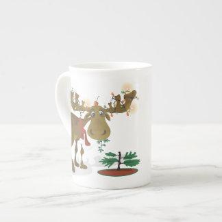 Christmas Moose~specialty mug