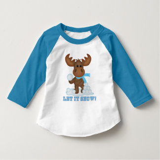 Christmas Moose toddler boy t-shirt
