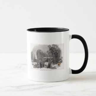 Christmas morning: Going to Church Mug