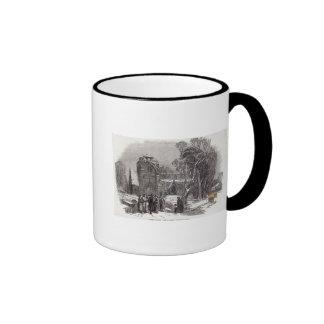 Christmas morning: Going to Church Coffee Mug