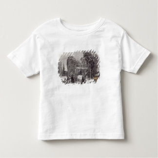 Christmas morning: Going to Church Toddler T-Shirt
