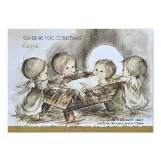 Christmas Morning Holiday Card 13 Cm X 18 Cm Invitation Card