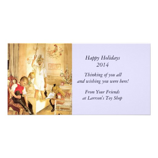 Christmas Morning Picture Card