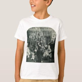 Christmas Morning Vintage Stereoview T-Shirt