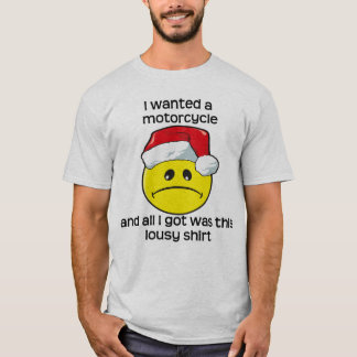 Christmas - Motorcycle T-Shirt