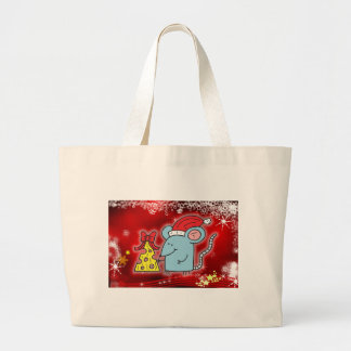 Christmas Mouse Cheese Bags