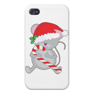 christmas mouse cover for iPhone 4