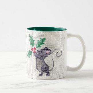 Christmas Mouse Mug