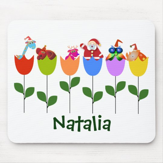 Christmas mousepad: Tulips II Mouse Mat