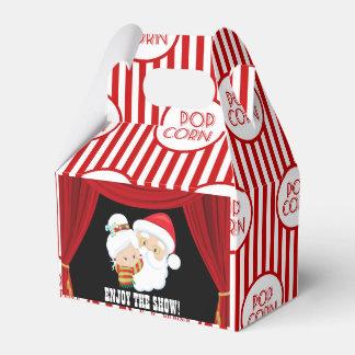 Christmas Movie Night popcorn box