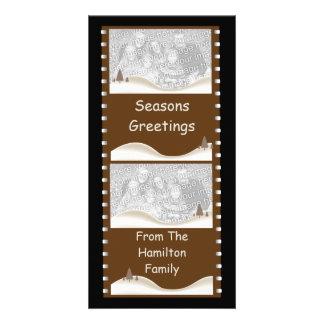 Christmas Movie Photo Card Template