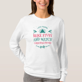 Christmas Movies Long Sleeve T-Shirt