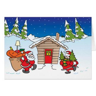 Christmas moving card