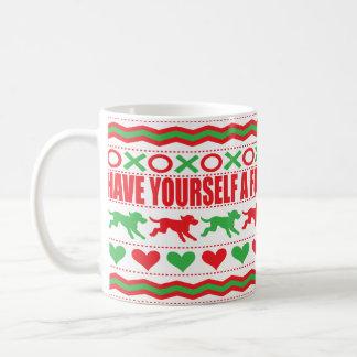 """Christmas Mug 11 oz. """"Best Dog Christmas Mug"""""""