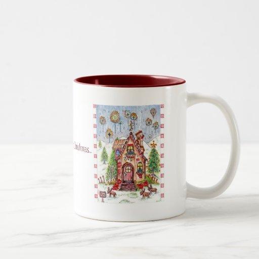 Christmas mug 15oz