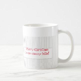 Christmas Mug for One Snazzy Fella