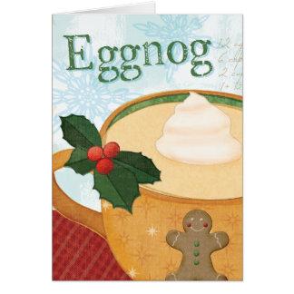Christmas Mug with Eggnog Card
