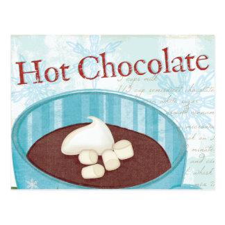 Christmas Mug with Hot Chocolate Postcard