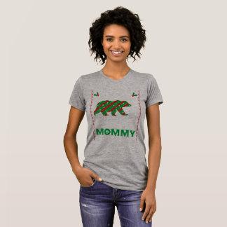 christmas mummy tshirt