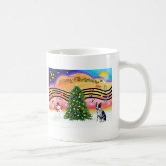 Christmas Music 2 - Australian Cattle Dog 1 Basic White Mug
