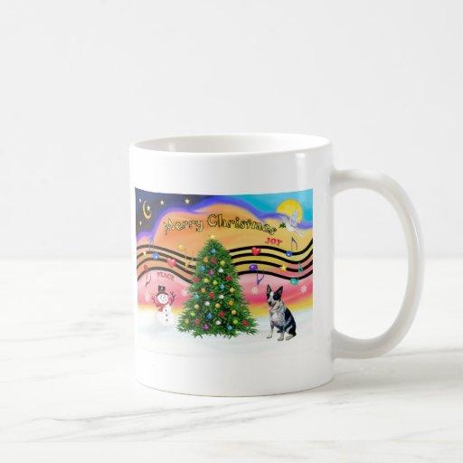 Christmas Music 2 - Australian Cattle Dog 1 Coffee Mug