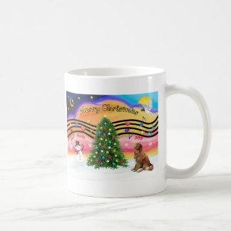 Christmas Music 2 - Nova Scotia Duck Tolling Retri Mug