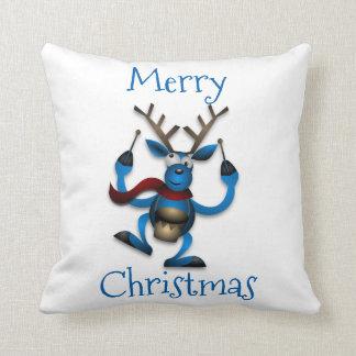 Christmas Musical Reindeer Cushion