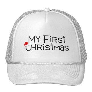 Christmas My First Christmas (Santa Hat) Cap