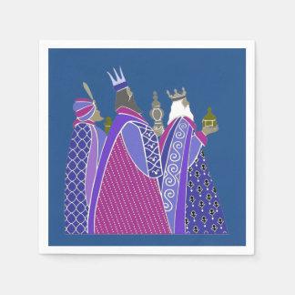 Christmas Napkins - Christmas Wise Men Paper Napkin